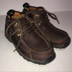 Timberland Moc Toe Brown Lace Up Leather Boot